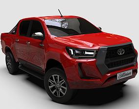 2021 Toyota Hilux Double cab 3D model