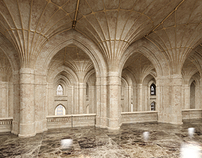 3D Classical Historic Interior 322