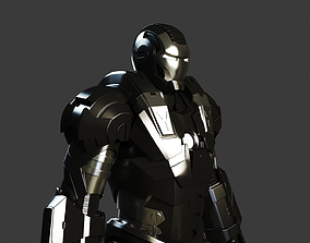 3D Iron Man 2 War Machine