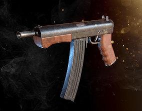 Custom Machine Gun 3D asset