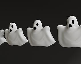 Cartoon Ghosts 3D