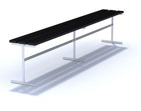 3D model Side Line Bench