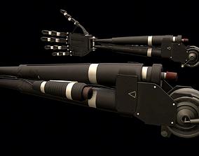 3D asset Robotic Arm Prosthetics