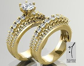 jewelry gold Gold Ring 3D print model