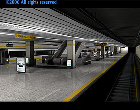 Subway - collection 3D model