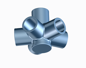 Innovative Pipe Fitting Type B 3D print model