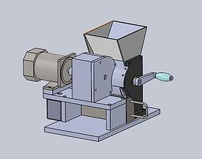 soybean milk machine by hand 3D