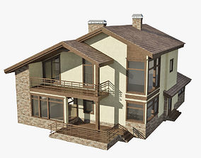 Cottage 3D model house