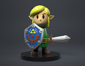 The Legend Of Zelda - Link Firgure 3D print model