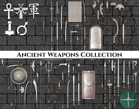 3D model Ancient Weapons Complete Collection