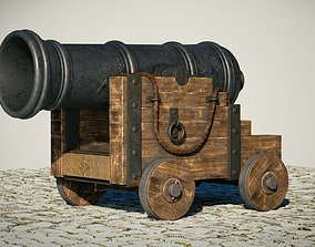3D Cannon PBR