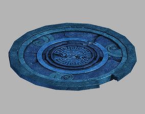 3D model Jiuyou Sea Area-Gravel 03