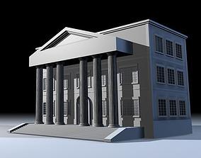 Public building 2 3D model