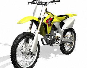 Suzuki RM-Z450 Dirt Bike 3D model