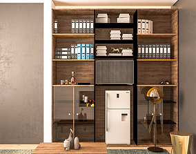 indoors 3D Office cabinet