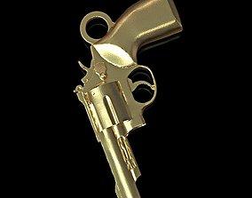 Revolver pendant 3D printable model