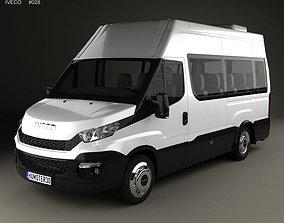 3D Iveco Daily Minibus 2014