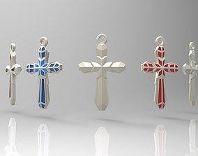 3D print model Edgy cross