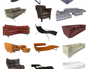 3D Sofa collection 3