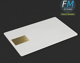 Credit card mockup 3D