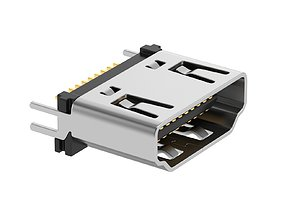 HDMI Type A Female 3D