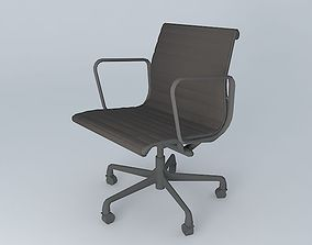 Eames Office Arms and Casters 3D