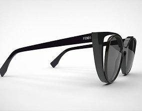 fendi sunglasses 3D model