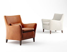 3D model Pinch Brody Low back armchair