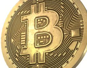 Bitcoin PBR 4k 3D asset
