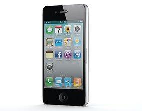 3D model iPhone 4 new