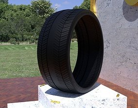 tire ORTAS TIRE NO 26 GAME READY AND 3D PRINTABLE
