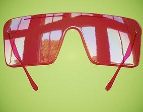 Plastic Glasses 3D asset