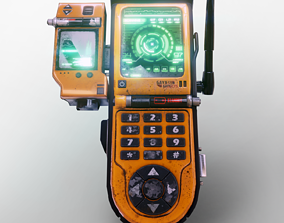 Game Ready Military Gadget 3D asset game-ready
