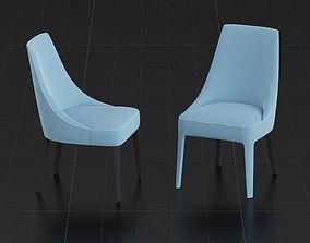 3D model Chair BeB Italia Febo by Antonio Citterio