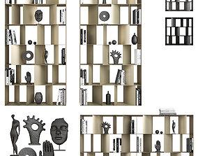 3D Nautilus Cattelan Italia Bookcases