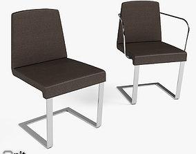 3D model Jag Chairs Bonaldo