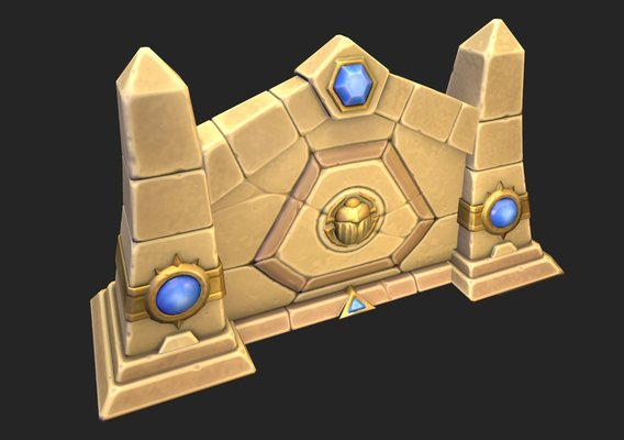 Heroes of the storm Sky temple gate