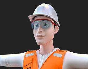 miner - minero 3D model