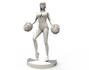 3D print model cheerleader Pose