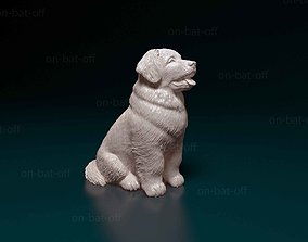 Leonberger puppy 3D printable model