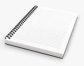 Notebook 001 3D model