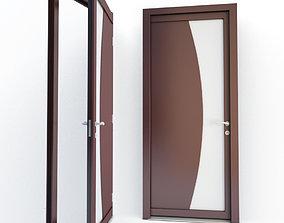 Wooden Door Athena 3D