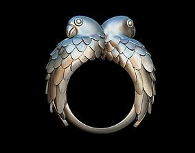 Parrots ring 3D print model