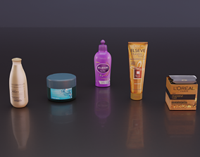 3D model realtime Cosmetics