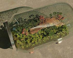 3D model Terrarium in a jar room