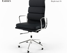 Office chair Eames 3D model