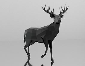 3D model Low Poly Deer