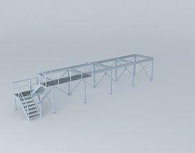 3D Mezzanine support conteiner 12m