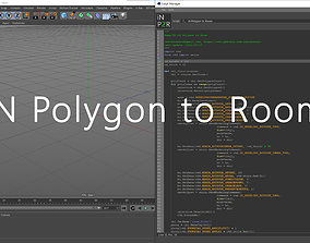 iN Polygon to Room 3D