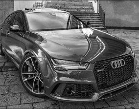 3D print model Audi RS7